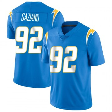Youth Nike Los Angeles Chargers Joe Gaziano Blue Powder Vapor Untouchable Alternate Jersey - Limited