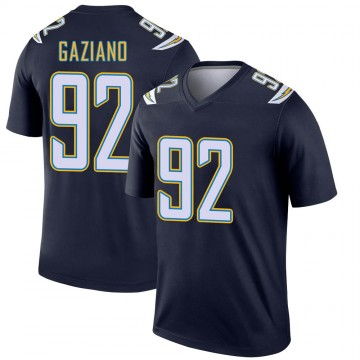 Youth Nike Los Angeles Chargers Joe Gaziano Navy Jersey - Legend