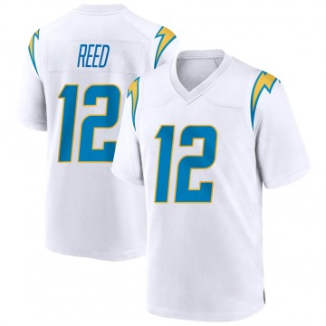 Youth Nike Los Angeles Chargers Joe Reed White Jersey - Game