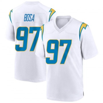 Youth Nike Los Angeles Chargers Joey Bosa White Jersey - Game