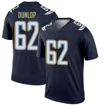 Youth Nike Los Angeles Chargers Josh Dunlop Navy Jersey - Legend