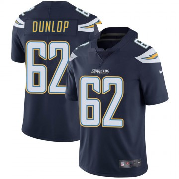 Youth Nike Los Angeles Chargers Josh Dunlop Navy Team Color Vapor Untouchable Jersey - Limited