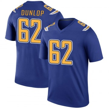 Youth Nike Los Angeles Chargers Josh Dunlop Royal Color Rush Jersey - Legend