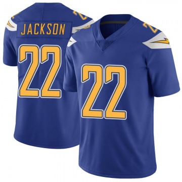 Youth Nike Los Angeles Chargers Justin Jackson Royal Color Rush Vapor Untouchable Jersey - Limited