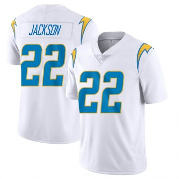 Youth Nike Los Angeles Chargers Justin Jackson White Vapor Untouchable Jersey - Limited