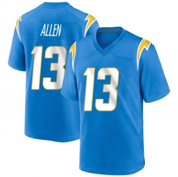 Youth Nike Los Angeles Chargers Keenan Allen Blue Powder Alternate Jersey - Game