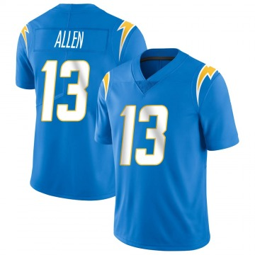 Youth Nike Los Angeles Chargers Keenan Allen Blue Powder Vapor Untouchable Alternate Jersey - Limited