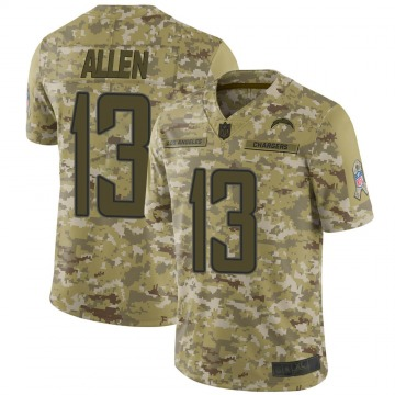 Youth Nike Los Angeles Chargers Keenan Allen Camo 2018 Salute to Service Jersey - Limited