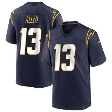 Youth Nike Los Angeles Chargers Keenan Allen Navy Team Color Jersey - Game