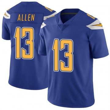 Youth Nike Los Angeles Chargers Keenan Allen Royal Color Rush Vapor Untouchable Jersey - Limited