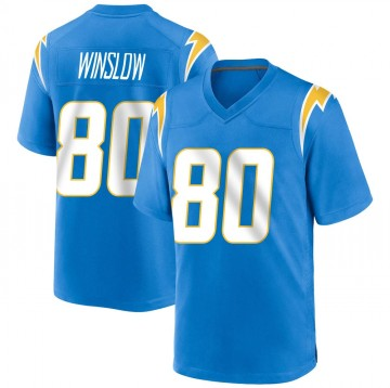 Youth Nike Los Angeles Chargers Kellen Winslow Blue Powder Alternate Jersey - Game