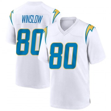 Youth Nike Los Angeles Chargers Kellen Winslow White Jersey - Game