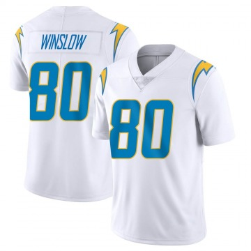 Youth Nike Los Angeles Chargers Kellen Winslow White Vapor Untouchable Jersey - Limited