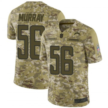 Youth Nike Los Angeles Chargers Kenneth Murray Camo 2018 Salute to Service Jersey - Limited