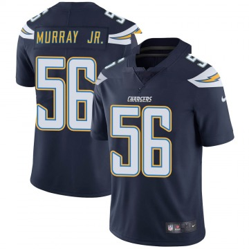 Youth Nike Los Angeles Chargers Kenneth Murray Navy Team Color Vapor Untouchable Jersey - Limited