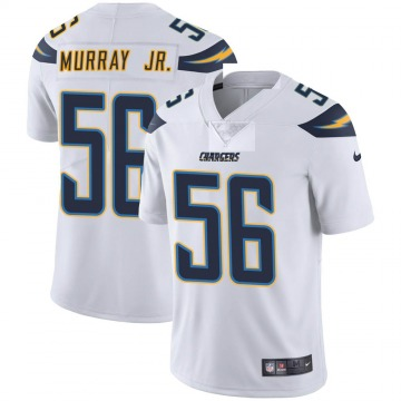 Youth Nike Los Angeles Chargers Kenneth Murray White Vapor Untouchable Jersey - Limited