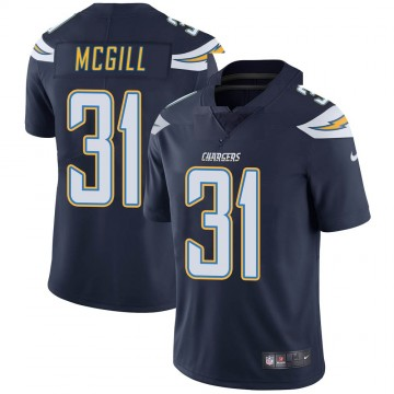 Youth Nike Los Angeles Chargers Kevin McGill Navy Team Color Vapor Untouchable Jersey - Limited