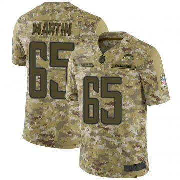 Youth Nike Los Angeles Chargers Koda Martin Camo 2018 Salute to Service Jersey - Limited