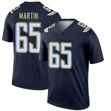 Youth Nike Los Angeles Chargers Koda Martin Navy Jersey - Legend
