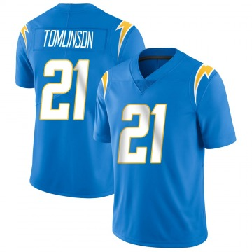 Youth Nike Los Angeles Chargers LaDainian Tomlinson Blue Powder Vapor Untouchable Alternate Jersey - Limited