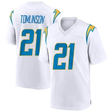 Youth Nike Los Angeles Chargers LaDainian Tomlinson White Jersey - Game