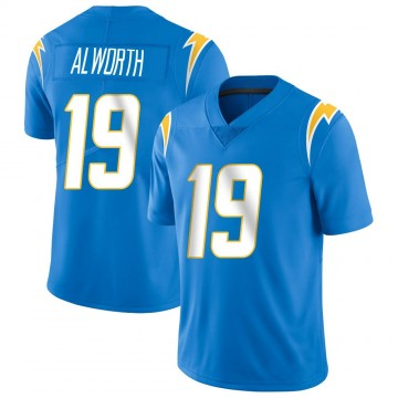 Youth Nike Los Angeles Chargers Lance Alworth Blue Powder Vapor Untouchable Alternate Jersey - Limited