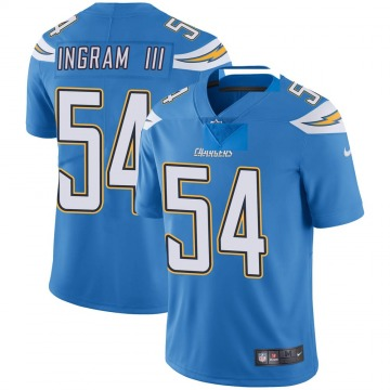Youth Nike Los Angeles Chargers Melvin Ingram Blue Powder Vapor Untouchable Alternate Jersey - Limited