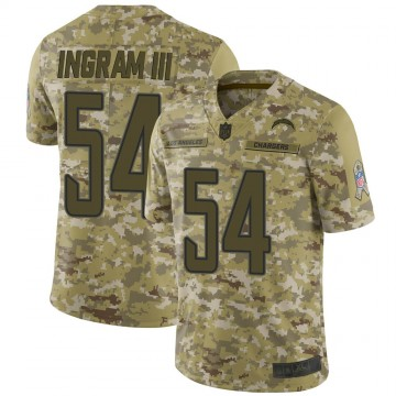 Youth Nike Los Angeles Chargers Melvin Ingram Camo 2018 Salute to Service Jersey - Limited