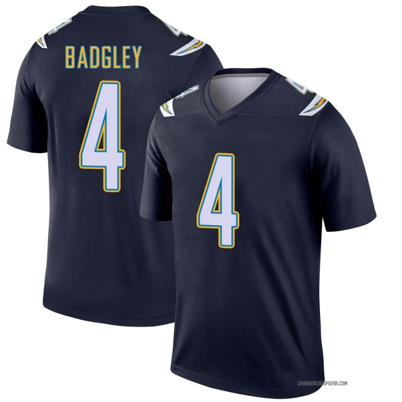 Youth Nike Los Angeles Chargers Michael Badgley Navy Jersey - Legend