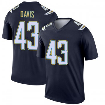Youth Nike Los Angeles Chargers Michael Davis Navy Jersey - Legend
