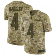 Youth Nike Los Angeles Chargers Mike Badgley Camo 2018 Salute to Service Jersey - Limited