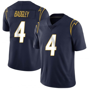 Youth Nike Los Angeles Chargers Mike Badgley Navy Team Color Vapor Untouchable Jersey - Limited