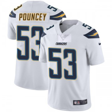 Youth Nike Los Angeles Chargers Mike Pouncey White Vapor Untouchable Jersey - Limited