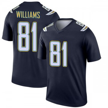 Youth Nike Los Angeles Chargers Mike Williams Navy Jersey - Legend
