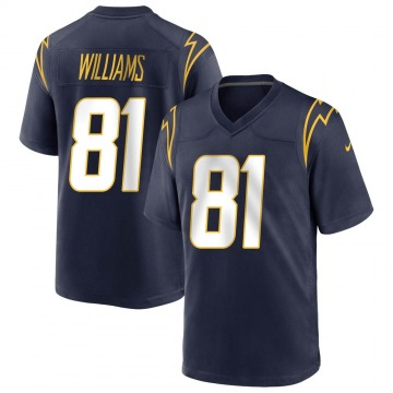 Youth Nike Los Angeles Chargers Mike Williams Navy Team Color Jersey - Game