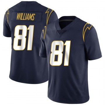 Youth Nike Los Angeles Chargers Mike Williams Navy Team Color Vapor Untouchable Jersey - Limited