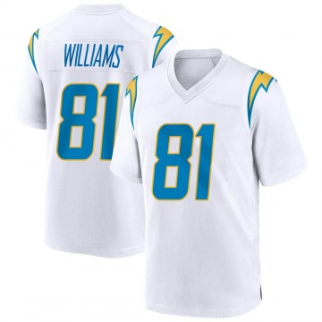 Youth Nike Los Angeles Chargers Mike Williams White Jersey - Game