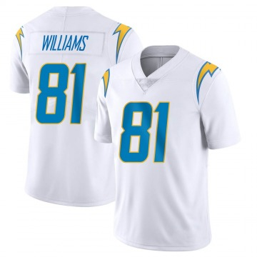 Youth Nike Los Angeles Chargers Mike Williams White Vapor Untouchable Jersey - Limited