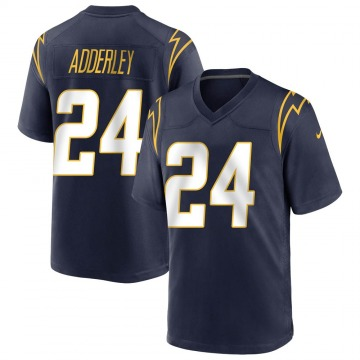 Youth Nike Los Angeles Chargers Nasir Adderley Navy Team Color Jersey - Game