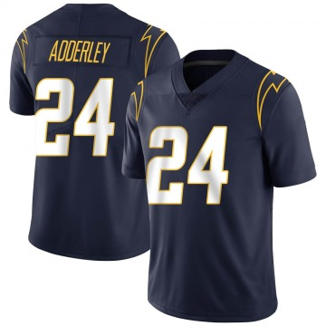 Youth Nike Los Angeles Chargers Nasir Adderley Navy Team Color Vapor Untouchable Jersey - Limited