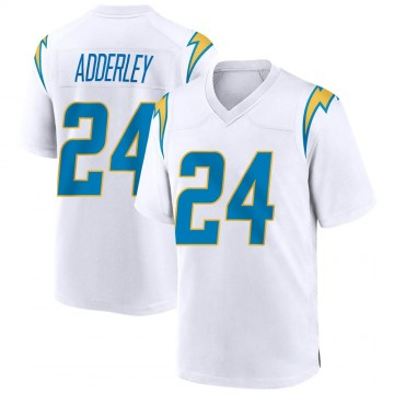 Youth Nike Los Angeles Chargers Nasir Adderley White Jersey - Game