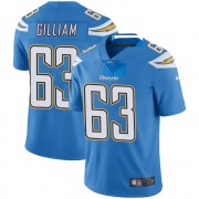 Youth Nike Los Angeles Chargers Nathan Gilliam Blue Powder Vapor Untouchable Alternate Jersey - Limited