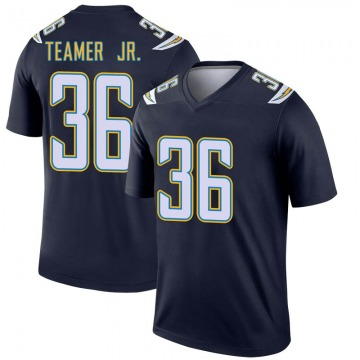 Youth Nike Los Angeles Chargers Roderic Teamer Jr. Navy Jersey - Legend