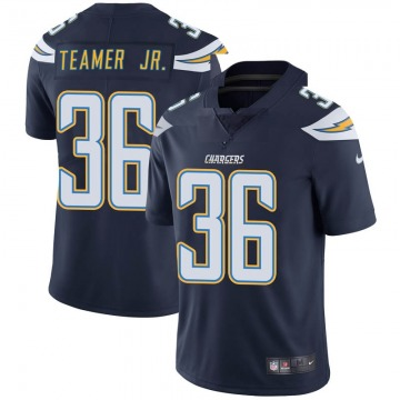 Youth Nike Los Angeles Chargers Roderic Teamer Jr. Navy Team Color Vapor Untouchable Jersey - Limited