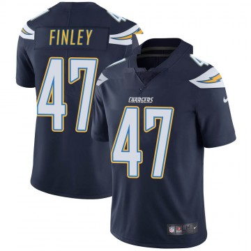 Youth Nike Los Angeles Chargers Romeo Finley Navy Team Color Vapor Untouchable Jersey - Limited