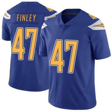 Youth Nike Los Angeles Chargers Romeo Finley Royal Color Rush Vapor Untouchable Jersey - Limited