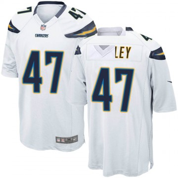 Youth Nike Los Angeles Chargers Romeo Finley White Jersey - Game