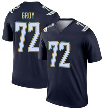 Youth Nike Los Angeles Chargers Ryan Groy Navy Jersey - Legend