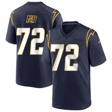 Youth Nike Los Angeles Chargers Ryan Groy Navy Team Color Jersey - Game