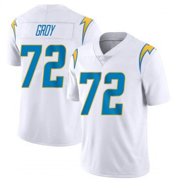 Youth Nike Los Angeles Chargers Ryan Groy White Vapor Untouchable Jersey - Limited